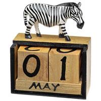 Kalender-Zebra