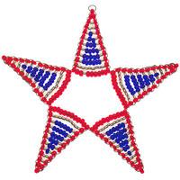 Stern aus Perlen