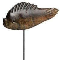 Fisch aus Serpentin-Stein