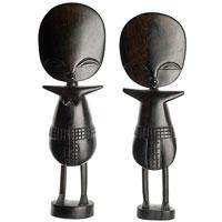 Puppen/Dolls aus Ebenholz
