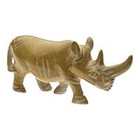 Nashorn aus Speckstein