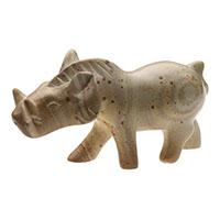 Warzenschwein aus Speckstein