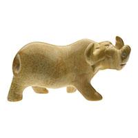 Büffel aus Speckstein