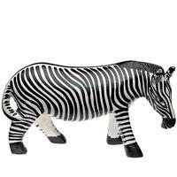 Zebra aus Holz