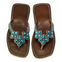 Sandale aus Leder (8san02-0003)