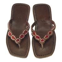Sandale aus Leder (8san03-0001)