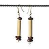 Ohrringe aus Bambus