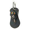 Schlüsselanhänger-Sandale