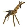 Giraffe aus Bananenblätter